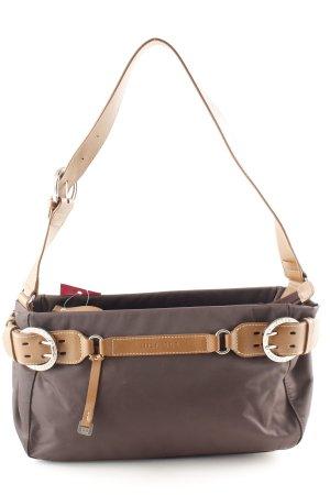 Tommy Hilfiger Handtasche dunkelbraun-braun Business-Look