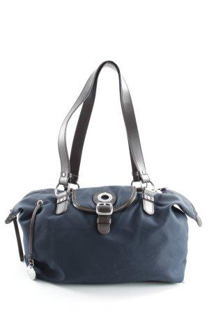 Tommy Hilfiger Handtasche dunkelbraun-dunkelblau Casual-Look