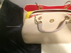 Tommy Hilfiger Handtasche NEU mit Staubbeutel creme beige