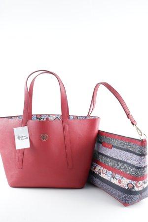 """Tommy Hilfiger Handtasche """"Tommy Bag in Bag Red Floral Stripe """" rot"""