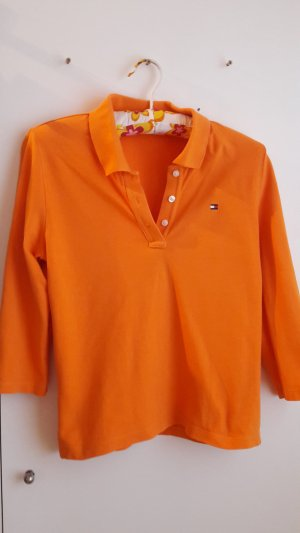 Tommy Hilfiger Denim Polo orange coton