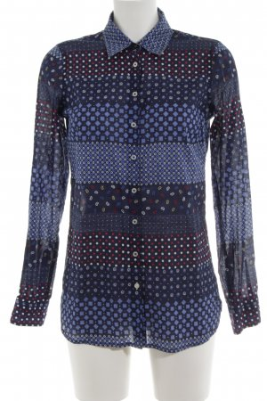 Tommy Hilfiger Hemd-Bluse abstraktes Muster Casual-Look