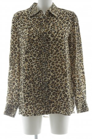 Tommy Hilfiger Hemd-Bluse Animalmuster extravaganter Stil