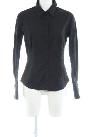Tommy Hilfiger Blusa-camisa negro estilo «business»