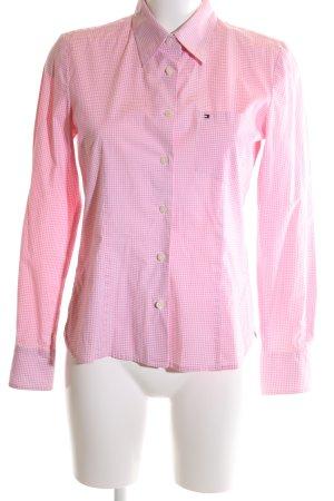 Tommy Hilfiger Hemd-Bluse pink Karomuster Business-Look
