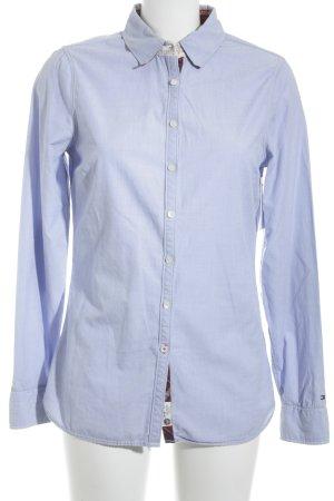 Tommy Hilfiger Hemd-Bluse blassblau klassischer Stil