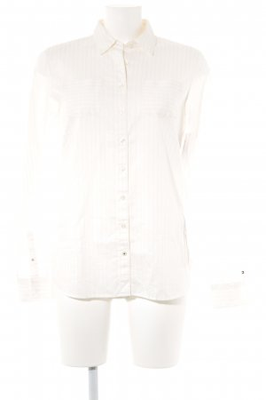 Tommy Hilfiger Hemd-Bluse creme-nude Streifenmuster Casual-Look