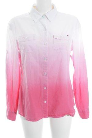 Tommy Hilfiger Hemd-Bluse Farbverlauf Casual-Look