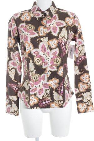 Tommy Hilfiger Hemd-Bluse florales Muster 70ies-Stil