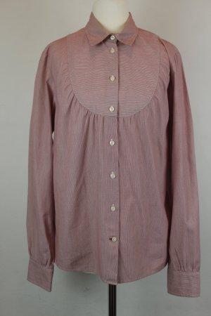 Tommy Hilfiger Hemd Bluse Gr. S rot weiß gestreift