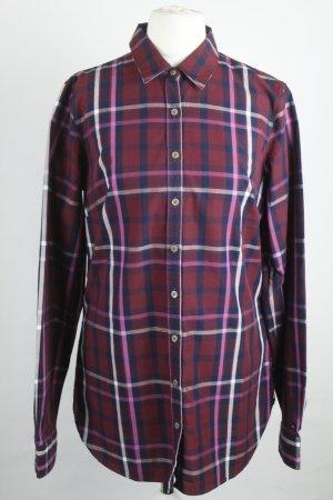 Tommy Hilfiger Shirt Blouse purple cotton