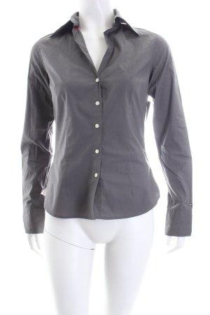 Tommy Hilfiger Hemd-Bluse grau Casual-Look