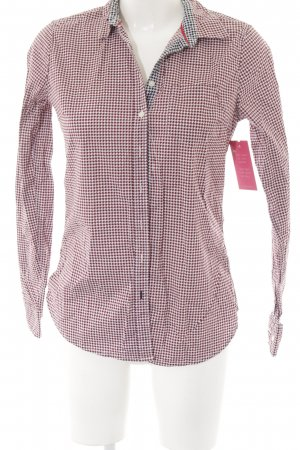 Tommy Hilfiger Hemd-Bluse Hahnentrittmuster Casual-Look