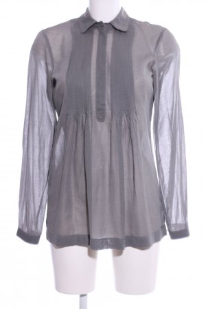 Tommy Hilfiger Hemd-Bluse hellgrau Business-Look