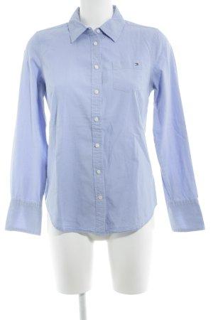 Tommy Hilfiger Hemd-Bluse himmelblau Business-Look