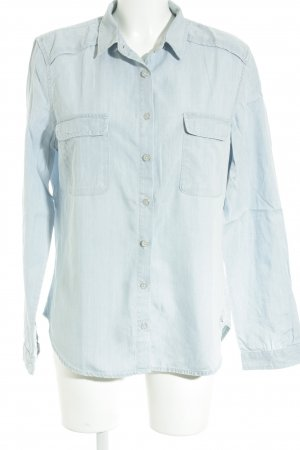 Tommy Hilfiger Hemd-Bluse himmelblau Casual-Look