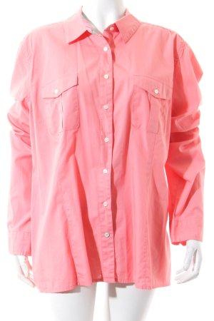 Tommy Hilfiger Hemd-Bluse lachs klassischer Stil