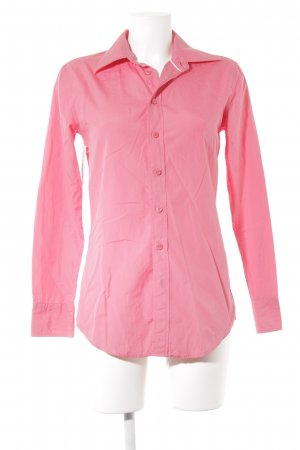 Tommy Hilfiger Hemd-Bluse magenta Business-Look