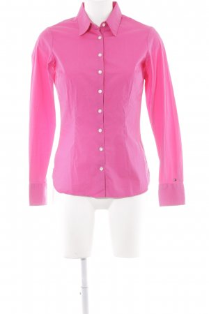 Tommy Hilfiger Hemd-Bluse pink Casual-Look