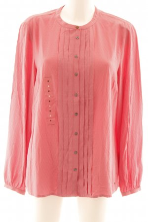 Tommy Hilfiger Hemd-Bluse rosa Webmuster Casual-Look