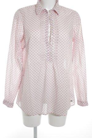 Tommy Hilfiger Hemd-Bluse rosa-wollweiß Blumenmuster Elegant