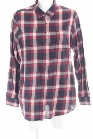 Tommy Hilfiger Hemd-Bluse rot-dunkelblau Karomuster Casual-Look