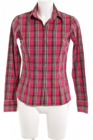 Tommy Hilfiger Hemd-Bluse rot Karomuster Casual-Look