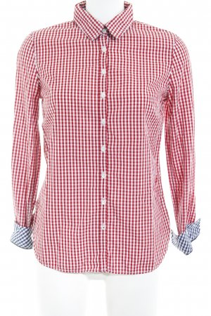 Tommy Hilfiger Hemd-Bluse rot-weiß Karomuster Business-Look