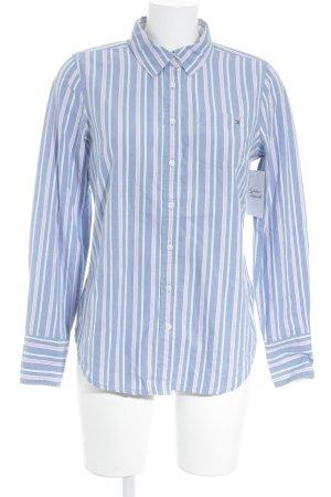 Tommy Hilfiger Camicia blusa motivo a righe stile casual