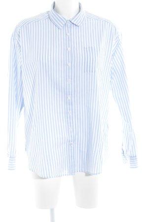 Tommy Hilfiger Camicia blusa bianco-azzurro strisce orizzontali