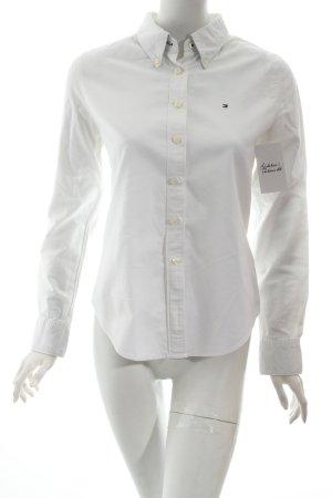 Tommy Hilfiger Hemd-Bluse weiß klassischer Stil