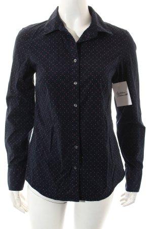 Tommy Hilfiger Hemd dunkelblau-weiß Casual-Look