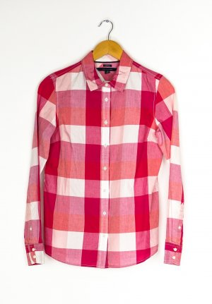 Tommy Hilfiger Long Sleeve Shirt white-red