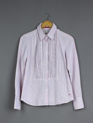 Tommy Hilfiger Camicia a maniche lunghe bianco-rosa chiaro Cotone