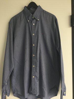 Tommy Hilfiger Hemd jeansblau