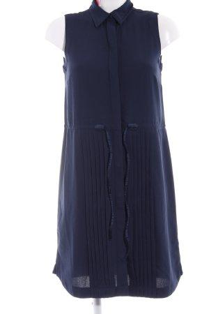 Tommy Hilfiger Hemdblusenkleid dunkelblau klassischer Stil