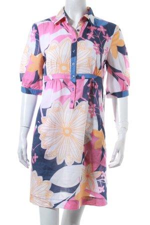 Tommy Hilfiger Hemdblusenkleid florales Muster Hippie-Look