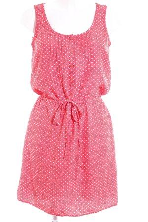 Tommy Hilfiger Robe chemise rouge clair-blanc motif de tache style décontracté