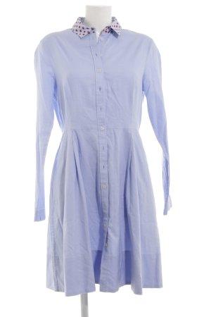 Tommy Hilfiger Hemdblusenkleid himmelblau Animalmuster schlichter Stil