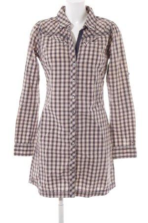 Tommy Hilfiger Abito blusa camicia motivo a quadri stile casual