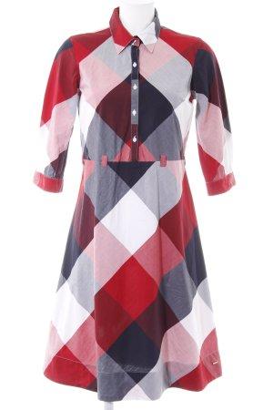 Tommy Hilfiger Robe chemise motif à carreaux style décontracté