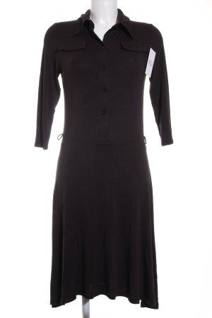 Tommy Hilfiger Hemdblusenkleid schwarz klassischer Stil