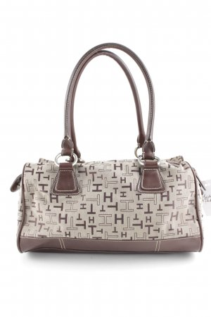 Tommy Hilfiger Carry Bag beige-brown allover print casual look