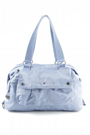 Tommy Hilfiger Henkeltasche blau Business-Look
