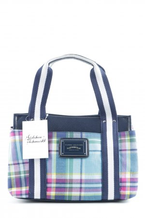 Tommy Hilfiger Carry Bag dark blue check pattern casual look