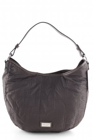 Tommy Hilfiger Carry Bag dark brown quilting pattern casual look
