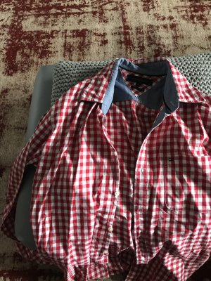 Tommy Hilfiger Long Sleeve Shirt red