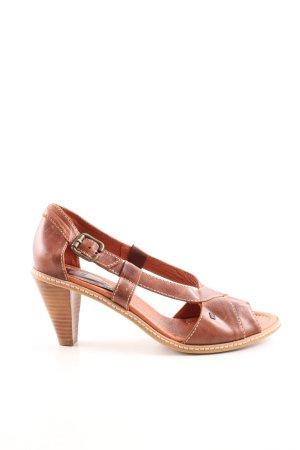 Tommy Hilfiger High Heel Sandaletten braun Casual-Look