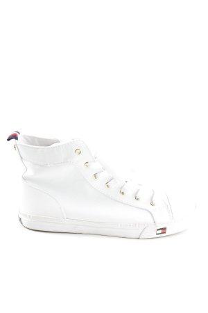 Tommy Hilfiger High Top Sneaker weiß Casual-Look