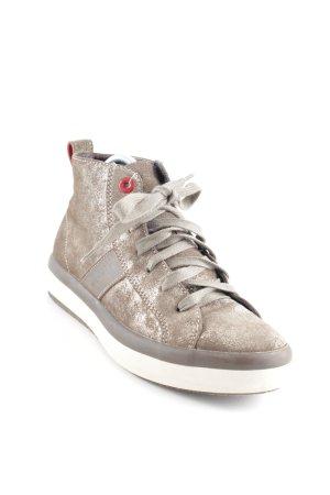 Tommy Hilfiger High Top Sneaker bronzefarben Casual-Look